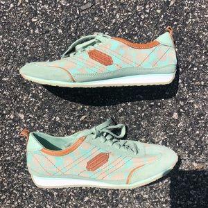 Coach Mint Green Sneakers